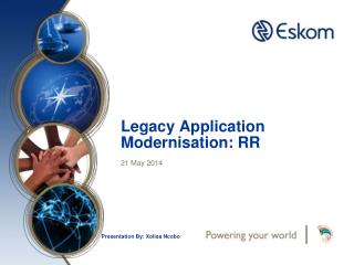 Legacy Application Modernisation : RR