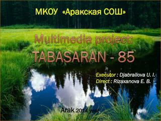 TABASARAN  -  85