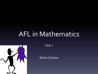 AFL in Mathematics