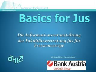 Basics  for  Jus