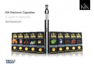 KiK Electronic Cigarettes