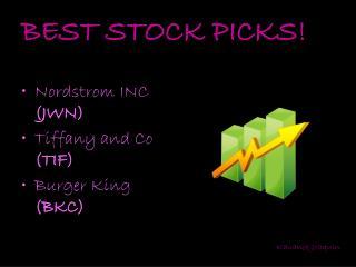 BEST STOCK PICKS!