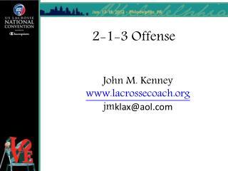 2-1-3 Offense