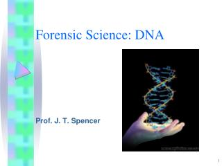 Forensic Science: DNA