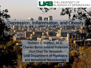 Depression, Inflammation, and  Obesity