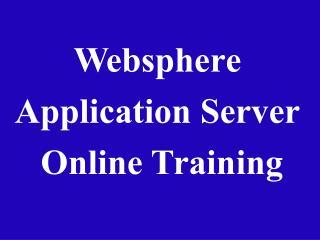 websphere application server online training