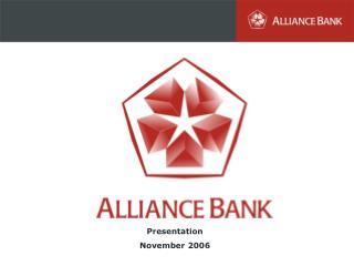 Presentation November 2006