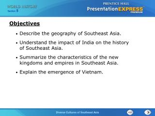 Describe the geography of Southeast Asia.