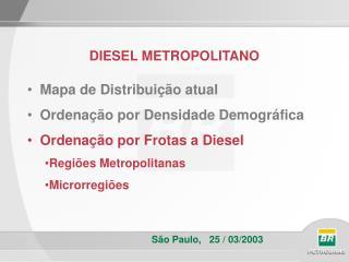 DIESEL METROPOLITANO