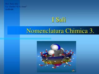 """Prof. Paolo Abis Lic. Classico """"D. A. Azuni"""" SASSARI"""