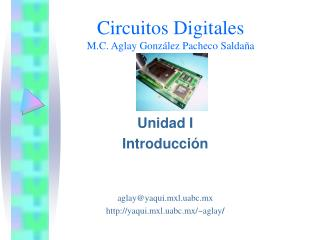 Circuitos Digitales M.C. Aglay González Pacheco Saldaña