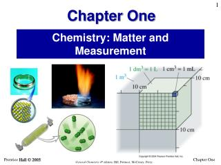Chemistry: Matter and Measurement