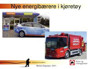 Nye energibærere i kjøretøy