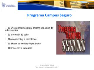 Programa Campus Seguro