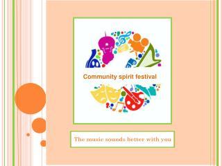 Community spirit festival