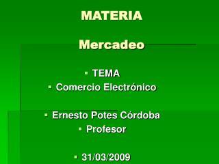 MATERIA Mercadeo