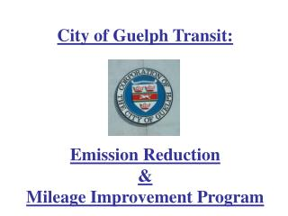City of Guelph Transit: