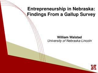Entrepreneurship in Nebraska: Findings From a Gallup Survey