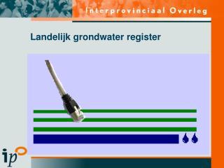 Landelijk grondwater register