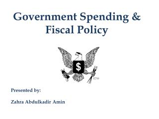 Government Spending  Fiscal Policy