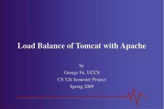 Load Balance of Tomcat with Apache