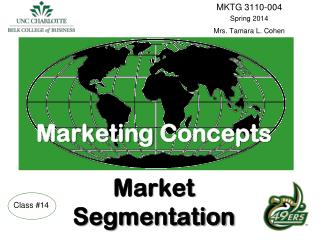 Marketing Concepts Market  Segmentation
