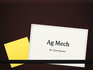 Ag  Mech
