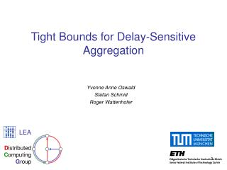 Tight Bounds for Delay-Sensitive Aggregation