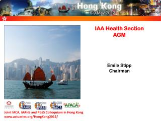 IAA Health Section AGM