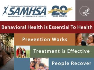 SAMHSA/CSAP  Underage Drinking Prevention National Media Campaign