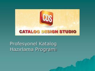 Profesyonel Katalog Hazırlama Programı