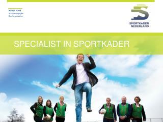 Specialist in sportkader