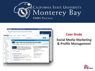 Case Study Social Media Marketing & Profile Management
