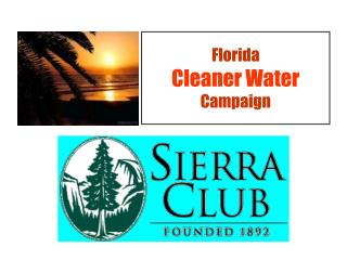 Florida Cleaner Water Campaign