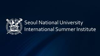 Seoul National University International Summer Institute
