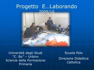 """Università degli Studi  """"C. Bo"""" – Urbino Scienze della Formazione Primaria"""