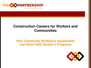 Construction Careers for Workers and Communities