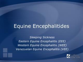 Equine Encephalitides