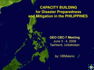 CAPACITY BUILDING for Disaster Preparedness and Mitigation in the PHILIPPINES