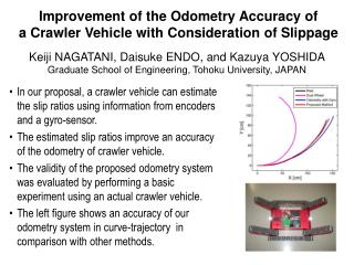 Improvement of the Odometry Accuracy of a Crawler Vehicle with Consideration of Slippage