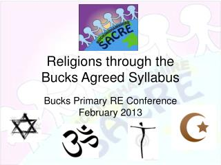 Religions through the  Bucks Agreed Syllabus
