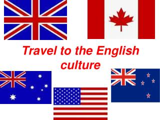 Travel to the English culture