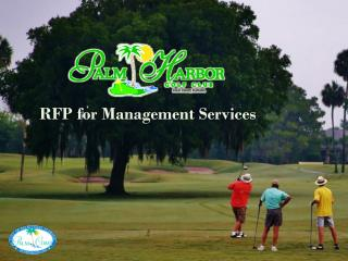 RFP for Management Services