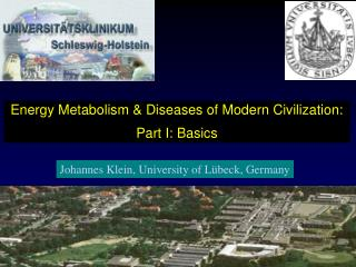 Energy Metabolism & Diseases of Modern Civilization: Part I: Basics