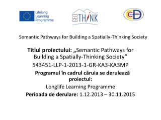 Semantic Pathways for Building a Spatially-Thinking Society