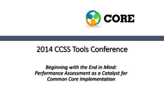 2014 CCSS Tools Conference