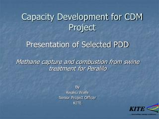 Capacity Development for CDM Project