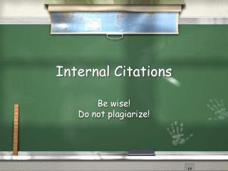 Internal Citations