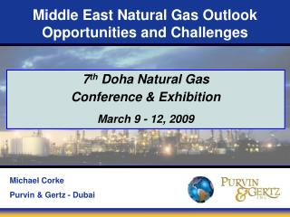 Middle East Natural Gas Outlook Opportunities and Challenges