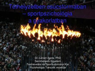 Téthelyzetben csúcsformában – sportpszichológia  a gyakorlatban